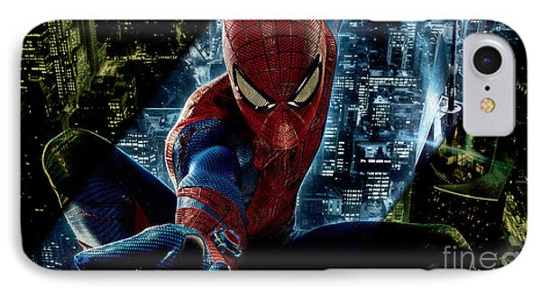 Spiderman Collection IPhone Case by Marvin Blaine