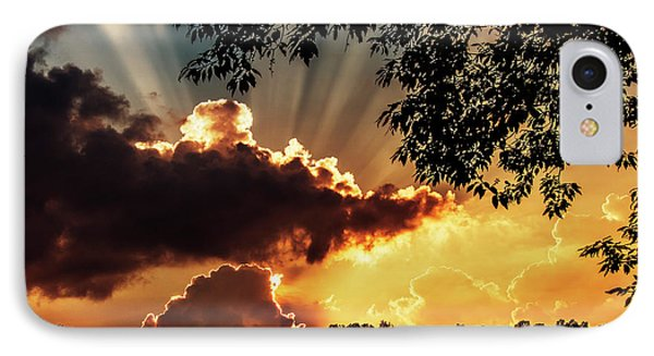 IPhone Case featuring the photograph Appalachian Sunset by Thomas R Fletcher
