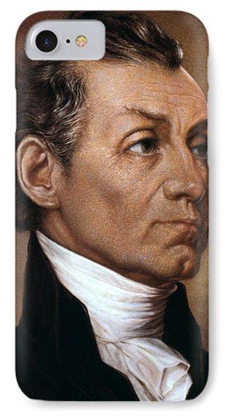 James Monroe (1758-1831) Phone Case by Granger