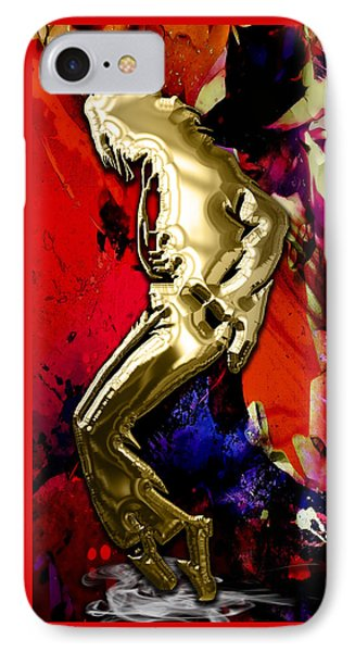 Michael Jackson Collection IPhone Case by Marvin Blaine