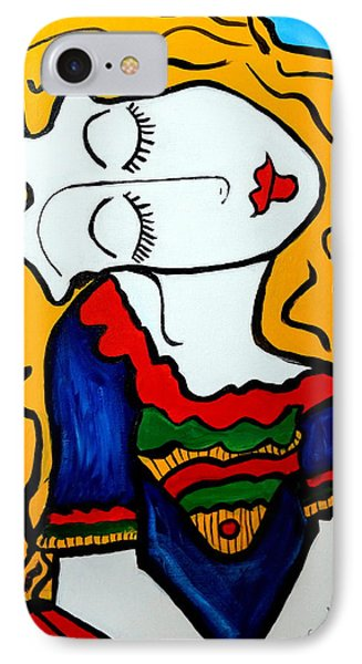 Shy Girl Picasso By Nora IPhone Case