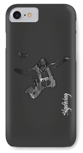 Skydiving Collection IPhone Case by Marvin Blaine