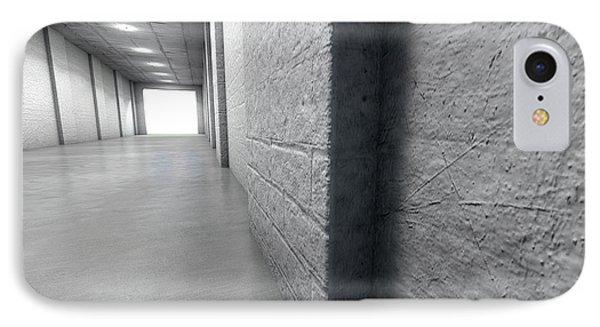Sports Stadium Tunnel IPhone Case by Allan Swart