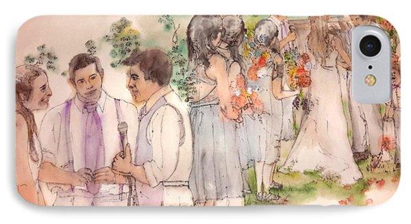 The Wedding Album  IPhone Case by Debbi Saccomanno Chan