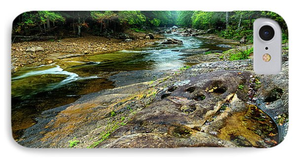 IPhone Case featuring the photograph Williams River Summer by Thomas R Fletcher