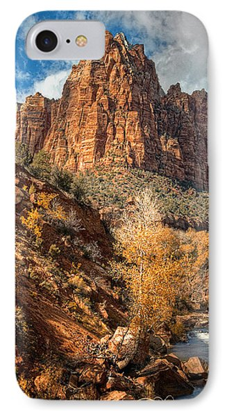 Zion National Park IPhone Case by Utah Images
