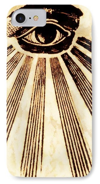 Freemason Symbolism By Pierre Blanchard IPhone Case by Pierre Blanchard