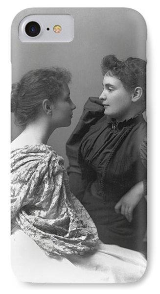Helen Adams Keller IPhone Case by Granger