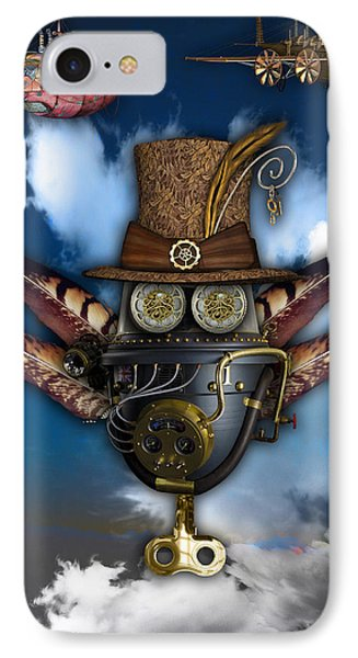 Steampunk Art IPhone Case by Marvin Blaine