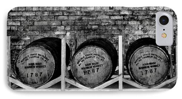 1787 Whiskey Barrels IPhone Case by Tara Potts