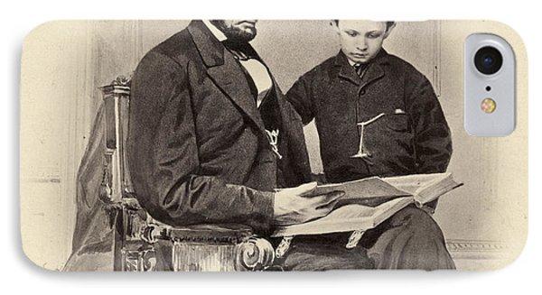 Abraham Lincoln (1809-1865) Phone Case by Granger