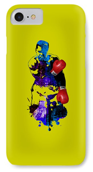 Muhammad Ali Collection IPhone Case by Marvin Blaine