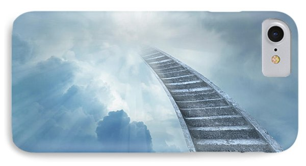 Stairway To Heaven IPhone Case by Les Cunliffe