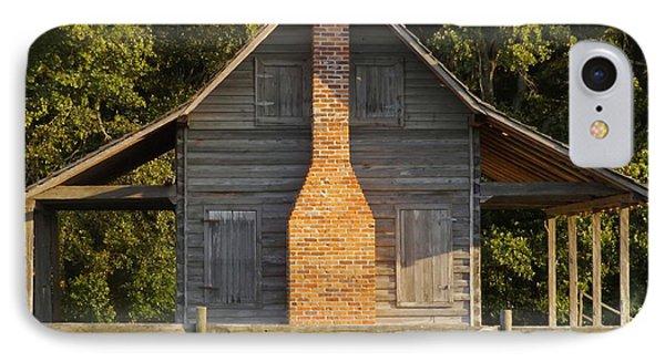 1844 Log Cabin IPhone Case