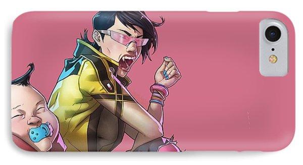185387 Anime Boys Vampires Jubilee X Men Marvel Comics IPhone Case