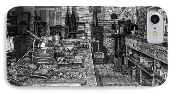 1860's Ore Assay Office Shop - Montana Phone Case by Daniel Hagerman
