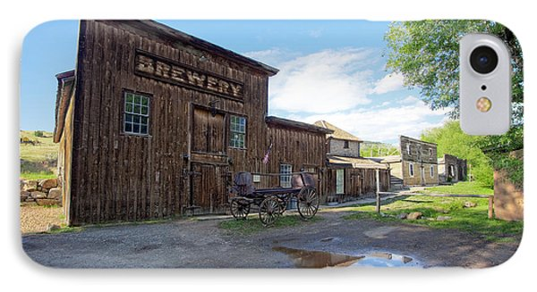 1863 H. S. Gilbert Brewery - Virginia City Ghost Town Phone Case by Daniel Hagerman