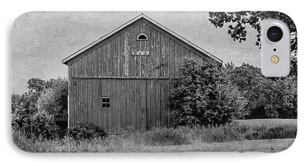 IPhone Case featuring the photograph 1869 Black And White by Kim Hojnacki