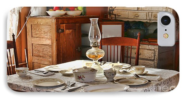 1880 Table Setting  8381 IPhone Case
