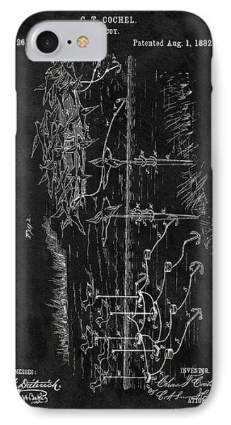 1882 Duck Decoy Patent IPhone Case by Dan Sproul