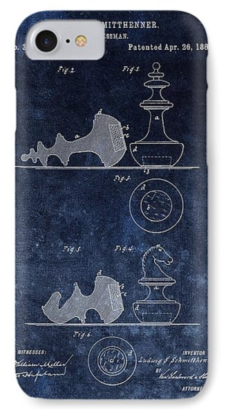 1887 Chessman Patent IPhone Case by Dan Sproul
