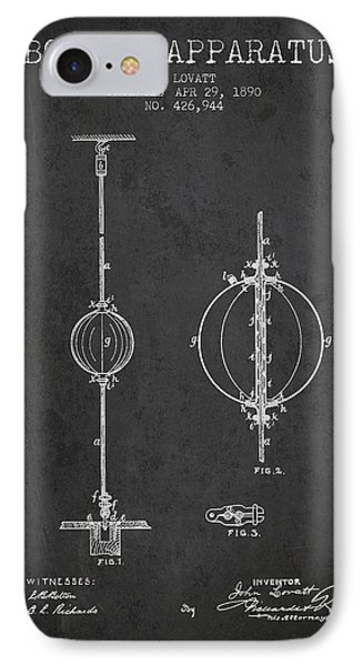 1890 Boxing Apparatus Patent Spbx17_cg IPhone Case by Aged Pixel