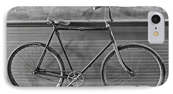 IPhone Case featuring the photograph 1895 Bicycle by Joan Reese