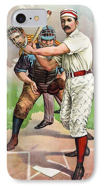 1895 In The Batters Box IPhone Case