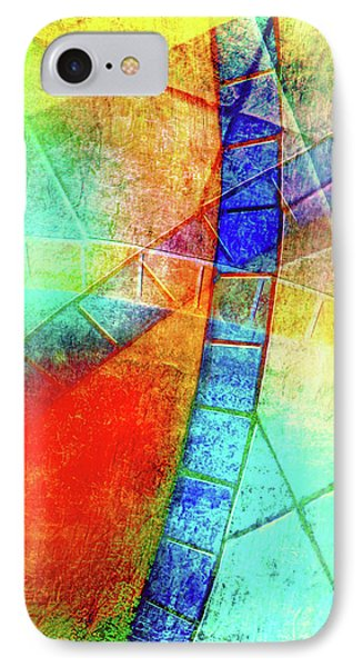 Digital Abstract Painting IPhone Case by Tom Gowanlock