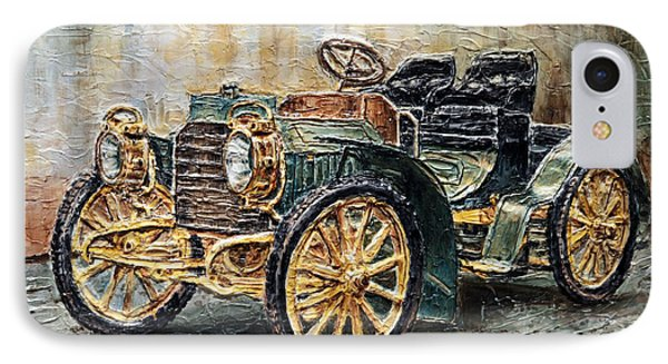 1901 Mercedes Benz IPhone Case by Joey Agbayani