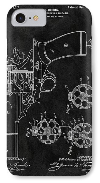 1901 Revolver Patent IPhone Case
