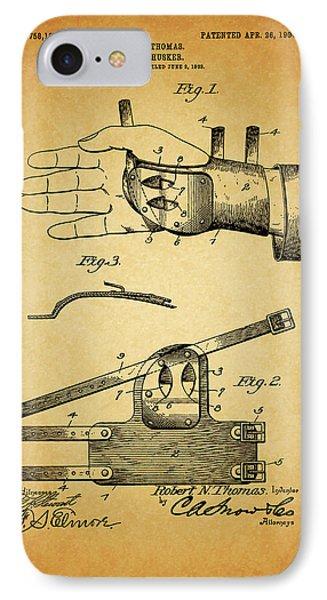 1904 Corn Husker Patent IPhone Case