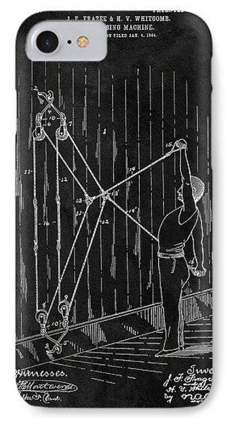 1904 Exercise Apparatus Patent IPhone Case by Dan Sproul