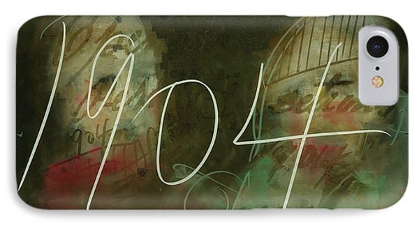 IPhone Case featuring the digital art 1904 by Jim Vance