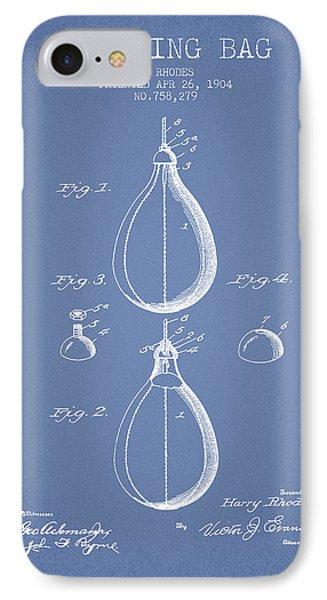 1904 Punching Bag Patent Spbx12_lb IPhone Case