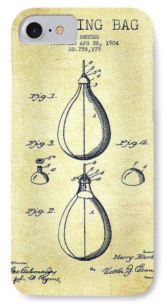 1904 Punching Bag Patent Spbx12_vn IPhone Case
