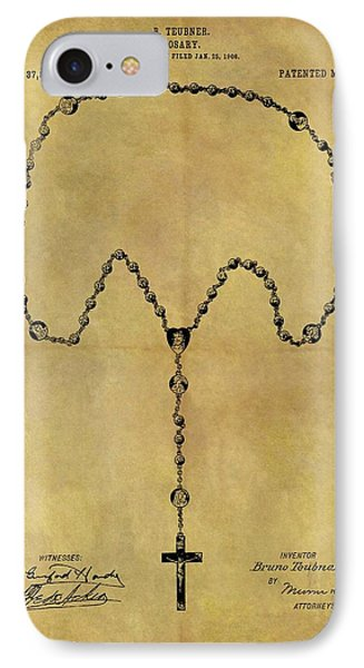 1906 Rosary Patent IPhone Case by Dan Sproul