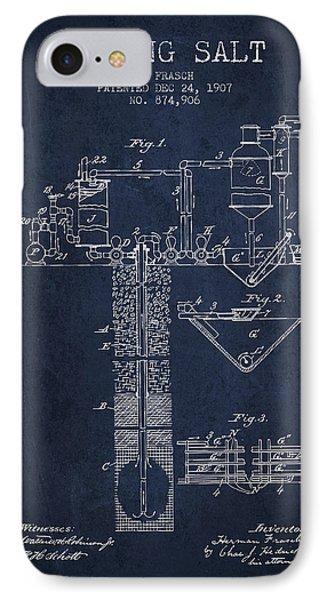 1907 Mining Salt Patent En36_nb IPhone Case by Aged Pixel