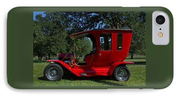 IPhone Case featuring the photograph 1909 Ford Model T Limo Custom Hot Rod by Tim McCullough