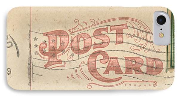 1909 Postcard IPhone Case
