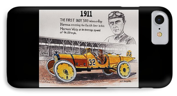1911 Indy 500 Winner IPhone Case