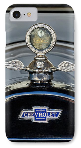 1915 Chevrolet Touring Hood Ornament 2 Phone Case by Jill Reger