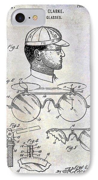 1916 Sunglasses Patent IPhone Case by Jon Neidert
