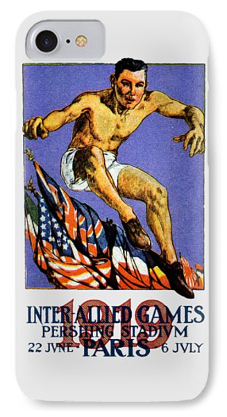 1919 Allied Games Poster Phone Case by Historic Image