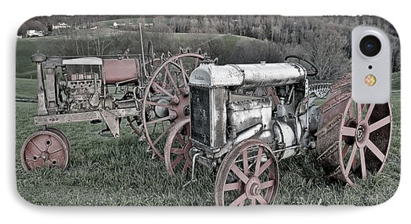 1923 Fordson Tractors IPhone Case by Mark Allen