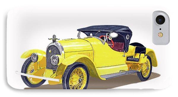 1923 Kissel Kar  Gold Bug Speedster IPhone Case by Jack Pumphrey