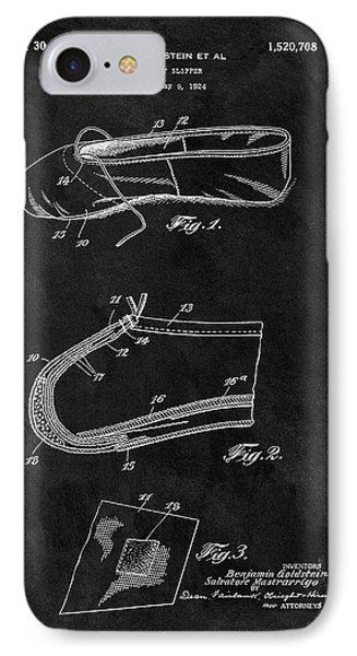 1924 Ballet Slipper Patent IPhone Case