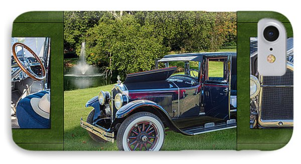 1924 Buick Duchess Antique Vintage Photograph Fine Art Prints 119    IPhone Case