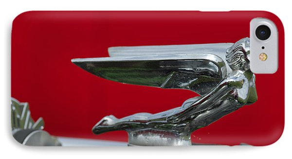 1924 Ford Hood Ornament Phone Case by Jill Reger