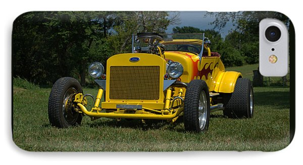 IPhone Case featuring the photograph 1924 Ford Model T Roadster Hot Rod by Tim McCullough